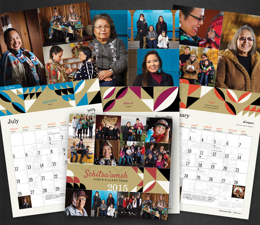 CDA_Tribe_Calendar_2015_graphic_design_tran_creative