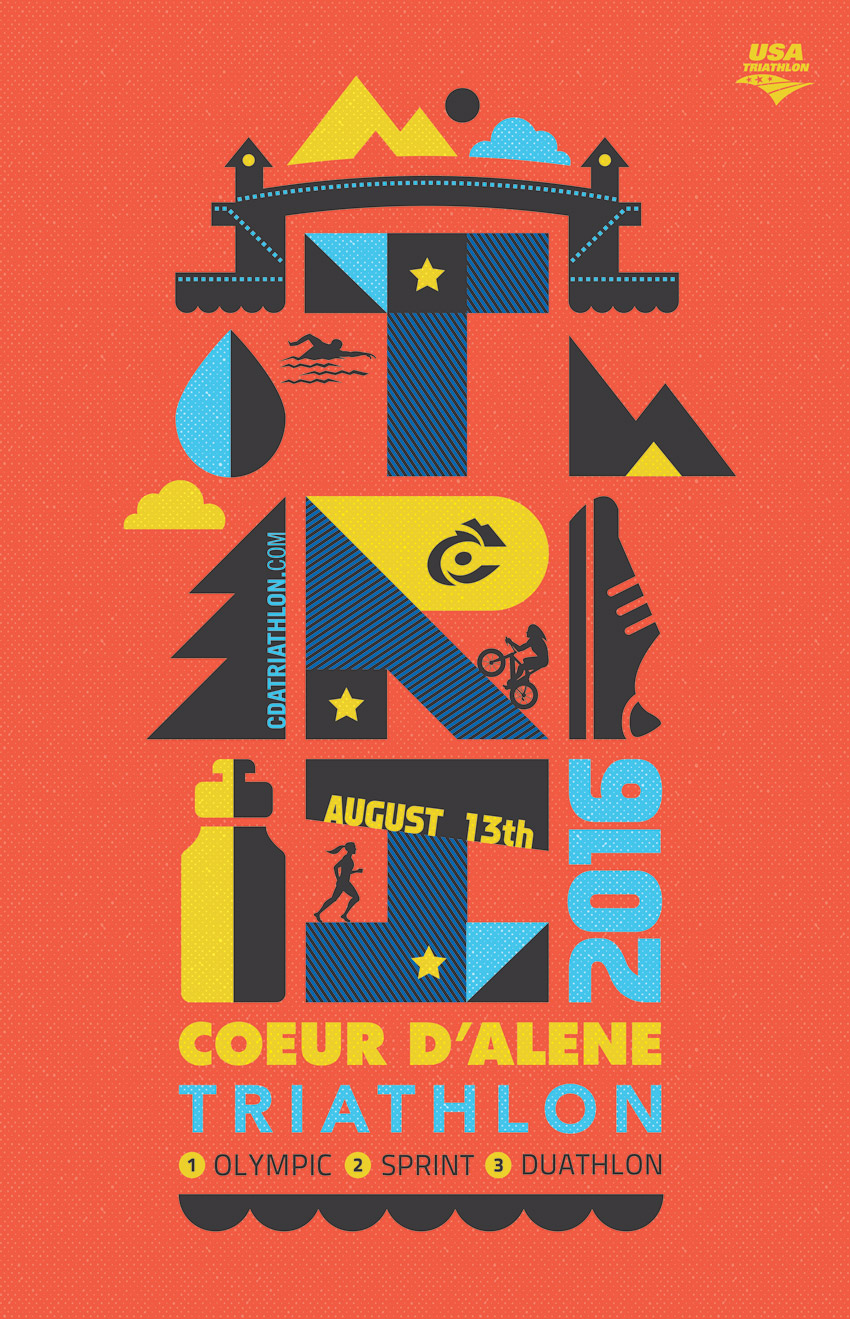 CDA_triathlon_TRI_swim_bike_run_Poster_2016_graphic_design_tran_creative