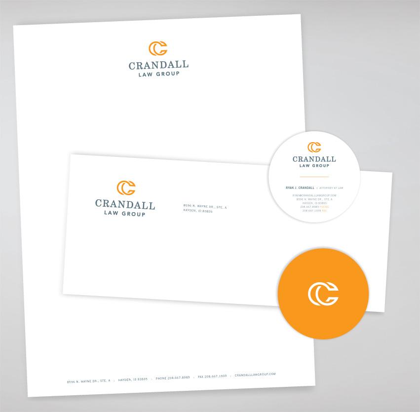 Crandall_Law_Group_Stationery_design_tran_creative