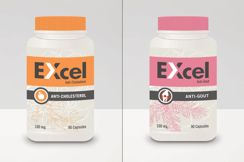 EXcel_labels_orange_pink_package_design_label_graphic_design_tran_creative