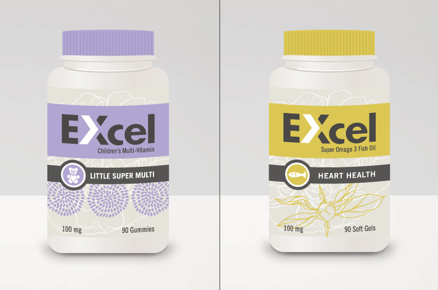 EXcel_labels_purple_yellow_package_design_label_graphic_design_tran_creative