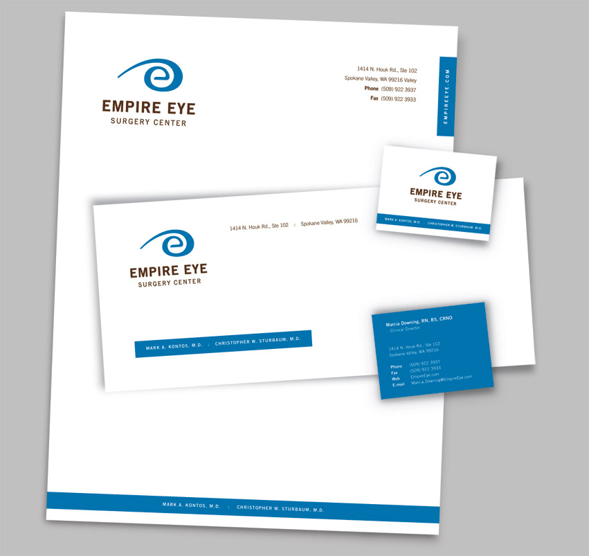 Empire_Eye_Physicians_surgery_center_stationery_design_tran_creative