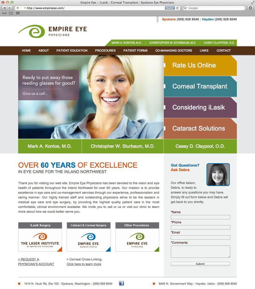 Empire_Eye_Physicians_website_design_tran_creative