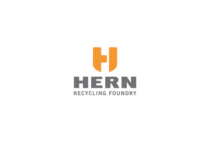 Hern_Recycling_Foundry_logo_design_tran_creative