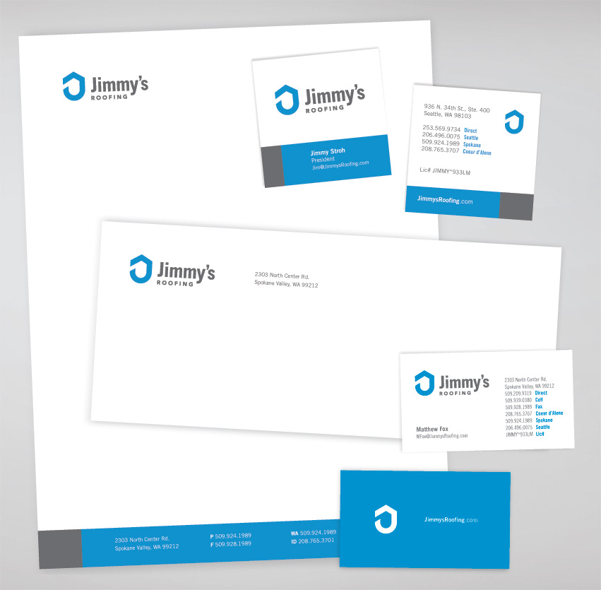 Jimmys_Roofing_Stationery_graphic_design_tran_creative