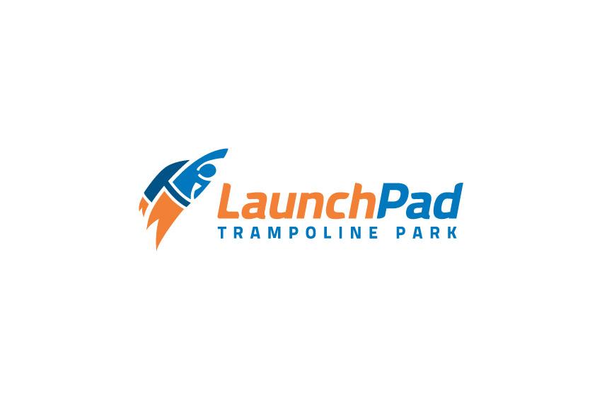 Launchpad_trampoline_park_logo_design_tran_creative