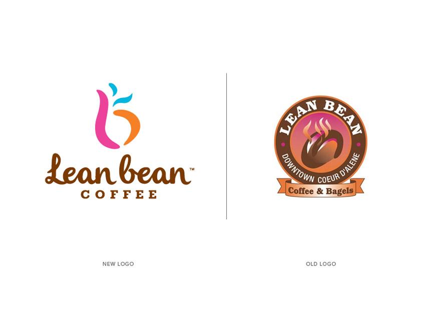 LeanBean_New_Old_logo_design_tran_creative_coeur_d_alene_idaho