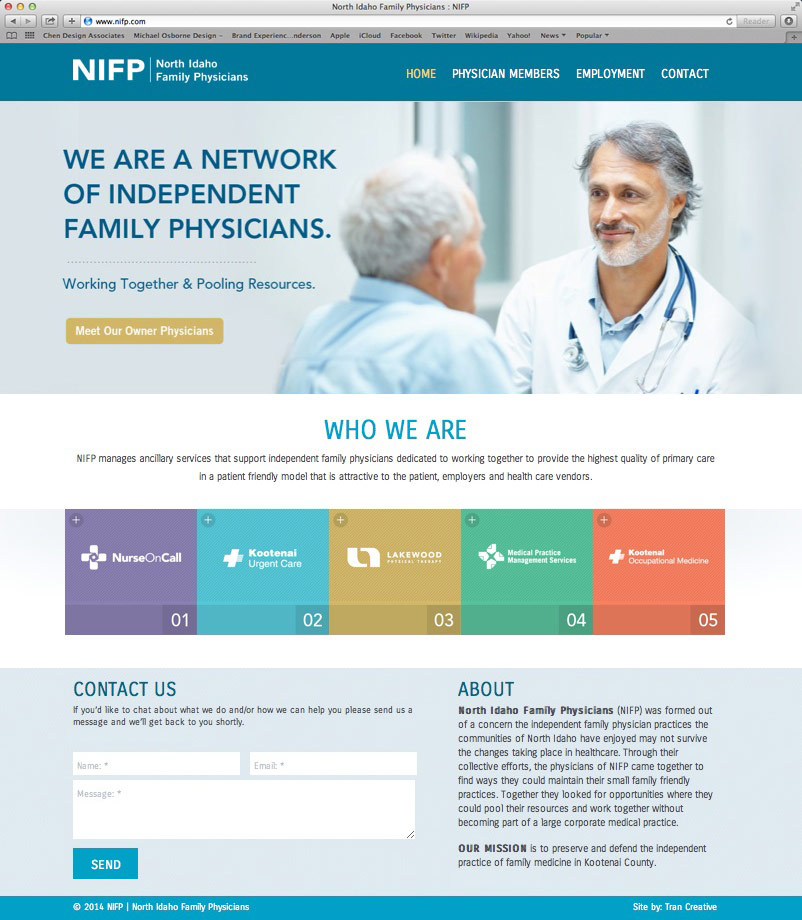 NIFP_north_idaho_family_physicians_website_design_tran_creative