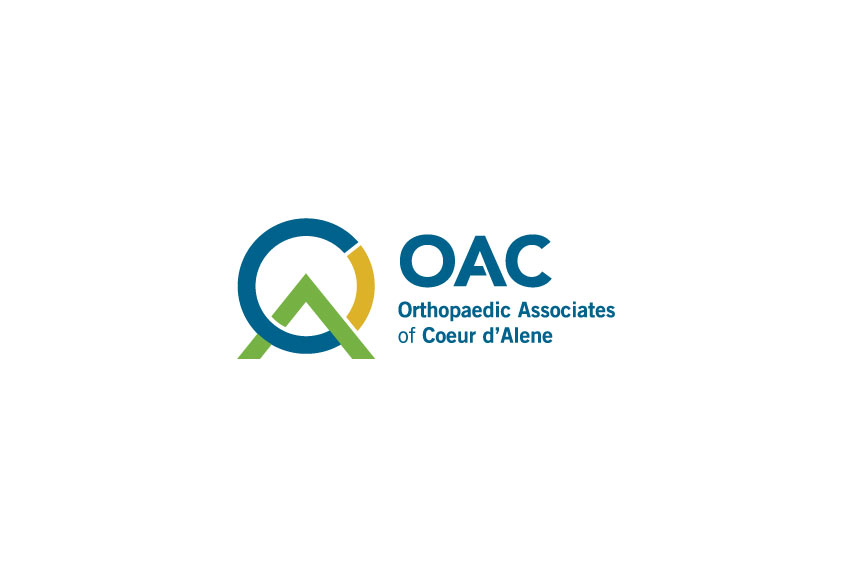 OAC_orthopaedic_associates_of_coeur_d_alene_idao_tran_creative_logo_design