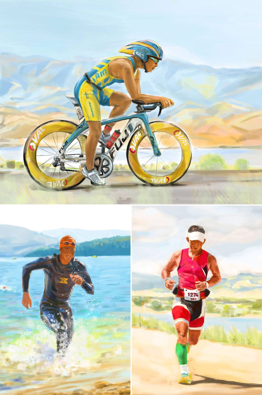 Tran_Creative_Landon_Ruan_illustration_swim_bike_run