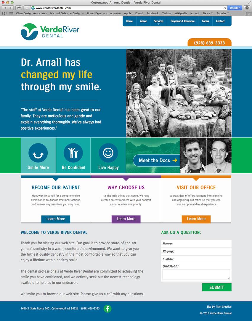 Verde_River_Dental_website_design_tran_creative