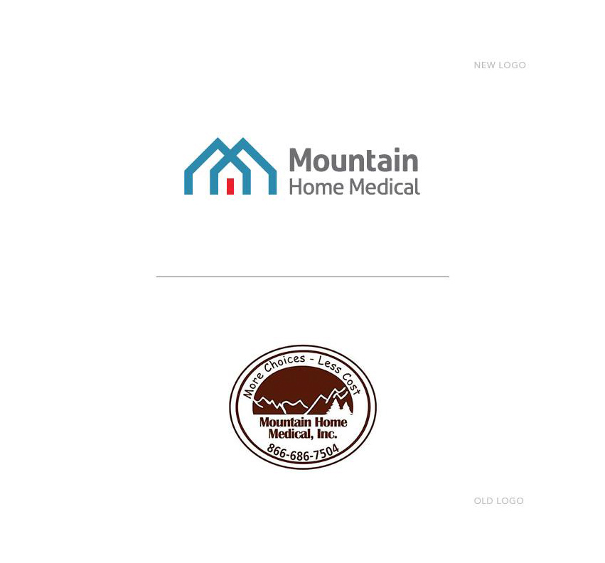 mountain_home_medical_old_new_logo_design_coeur_d_alene_idaho_tran_creative