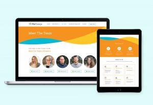 Rite Passage Website Design by tran creative